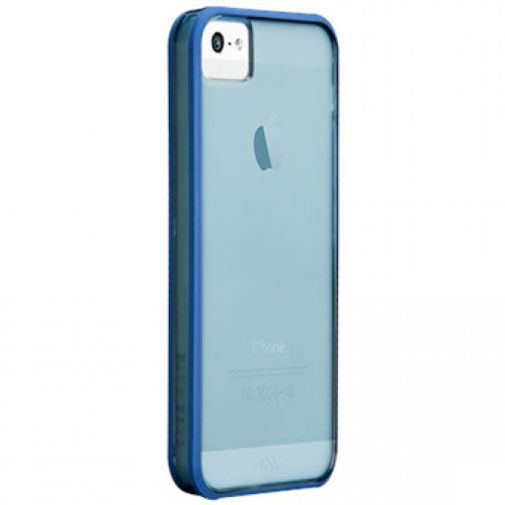 Productafbeelding van de Case-Mate Haze Case Blue Apple iPhone 5/5S