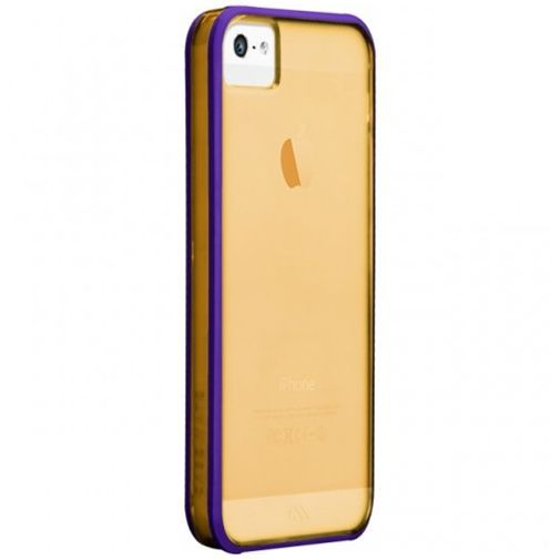 Productafbeelding van de Case-Mate Haze Case Gold Apple iPhone 5/5S