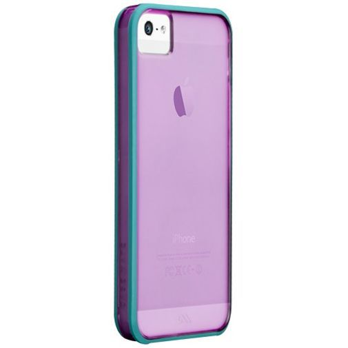 Productafbeelding van de Case-Mate Haze Case Purple Apple iPhone 5/5S/SE