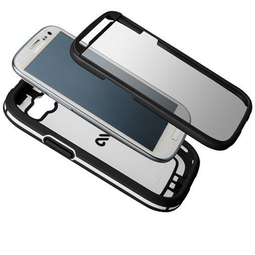 Productafbeelding van de Case-Mate Phantom Case Black/White Samsung Galaxy S3 (Neo)