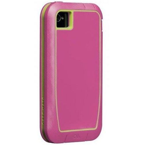 Productafbeelding van de Case-Mate Phantom Case Rasberry Lime Apple iPhone 4/4S