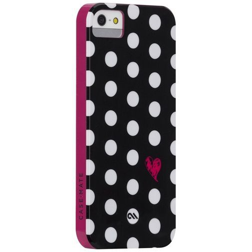 Productafbeelding van de Case-Mate Polka Love Studio Print Case Apple iPhone 5/5S