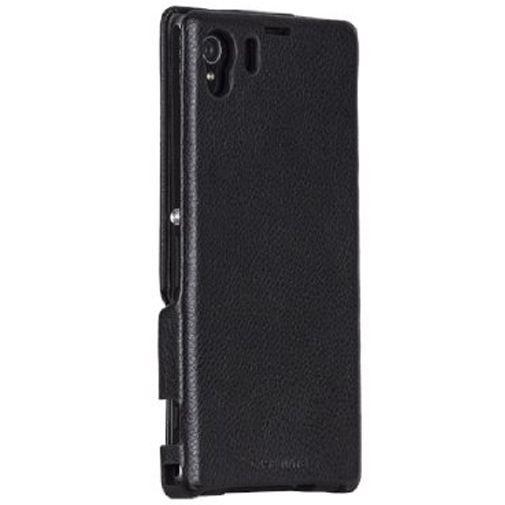 Productafbeelding van de Case-Mate Signature Leather Flip Case Sony Xperia Z1 Black
