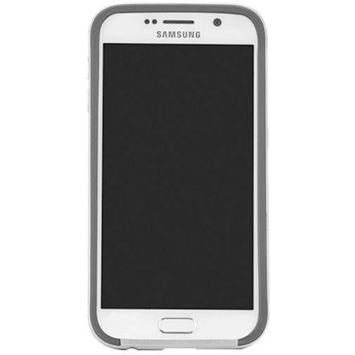 Productafbeelding van de Case Mate Slim Tough Case Black/Silver Samsung Galaxy S6