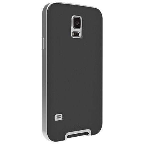 Productafbeelding van de Case Mate Slim Tough Case Samsung Galaxy S5 Black/Silver