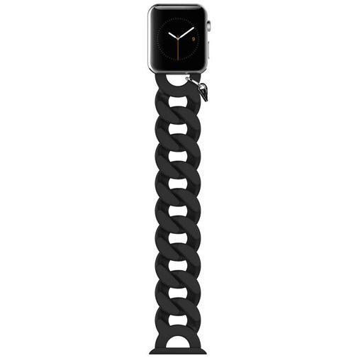 Productafbeelding van de Case-Mate Turnlock Polsband Black Apple Watch 38mm