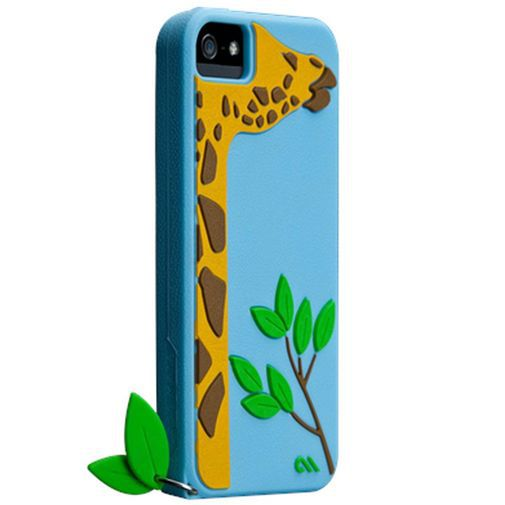 Productafbeelding van de Case-mate Creatures Leafy Apple iPhone 5/5S/SE Pink