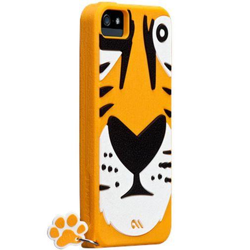 Productafbeelding van de Case-Mate Creatures Tigris Apple iPhone 5/5S Orange