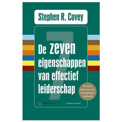 Productafbeelding van de De zeven eigenschappen van effectief leiderschap - Stephen R. Covey