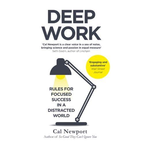 Productafbeelding van de Deep Work - Cal Newport