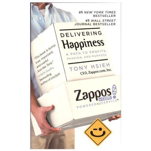 Productafbeelding van de Delivering Happiness - Tony Hsieh