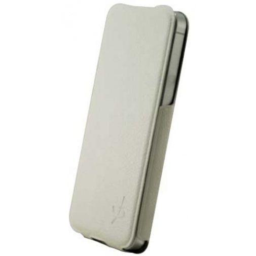 Productafbeelding van de Dolce Vita Flip Case Ultra-Slim Apple iPhone 5/5S/SE White