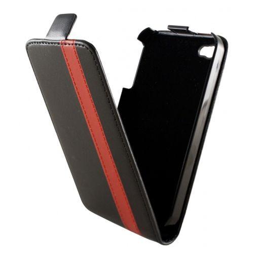 Productafbeelding van de Dolce Vita Flip Case Black Red Apple iPhone 4/4s