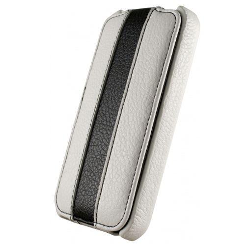 Productafbeelding van de Dolce Vita Flip Case Black White Apple iPhone 4/4s