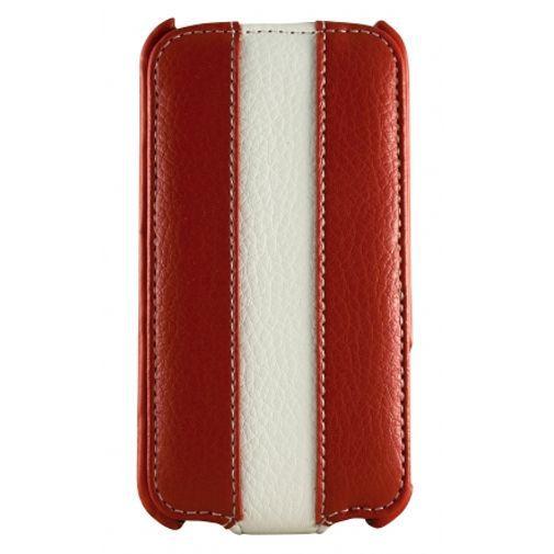 Productafbeelding van de Dolce Vita Flip Case Red White Apple iPhone 4/4s