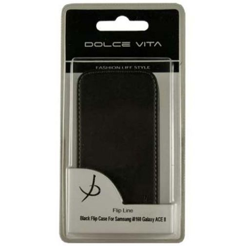 Productafbeelding van de Dolce Vita Flip Case Samsung Galaxy Ace 2 Black