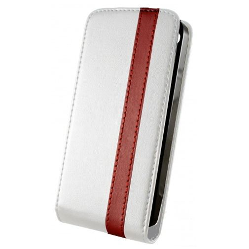 Productafbeelding van de Dolce Vita Flip Case White Red Apple iPhone 4/4s