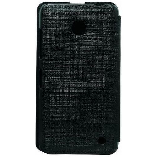 Productafbeelding van de Dolce Vita Flip Wallet Black Nokia Lumia 630/635