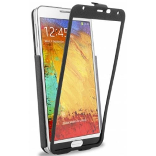 Productafbeelding van de Dolce Vita Front Touch Case Samsung Galaxy Note 3 Black