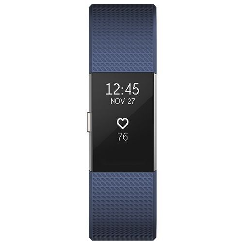 Produktimage des Fitbit Charge 2 Blue/Silver Small
