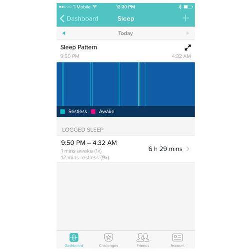 Productafbeelding van de Fitbit Charge HR Small Black