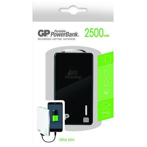 Productafbeelding van de GP Portable PowerBank 2500 mAh Black