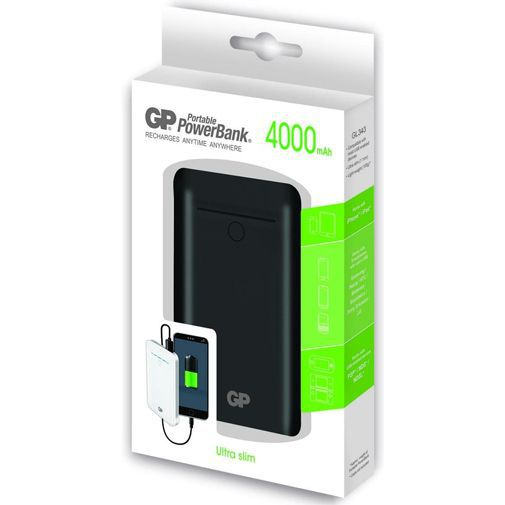 Productafbeelding van de GP Portable PowerBank 4000 mAh Black