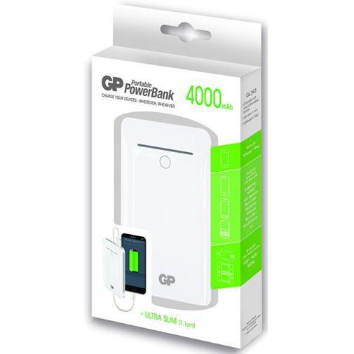 Productafbeelding van de GP Portable PowerBank 4000 mAh White