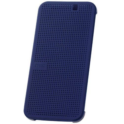 Productafbeelding van de HTC Dot View Case I Dark Blue One M9 (Prime Camera Edition)