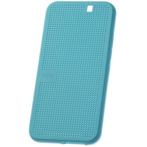 Productafbeelding van de HTC Dot View Case II Ice Blue One M9 (Prime Camera Edition)