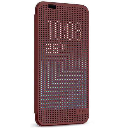Productafbeelding van de HTC Dot View Case II Deep Garnet One A9