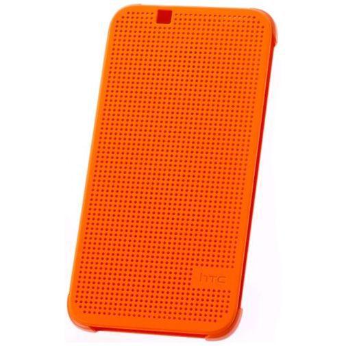 Productafbeelding van de HTC Dot View Case Orange Desire 620