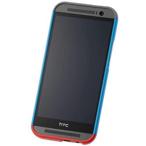 Productafbeelding van de HTC Double Dip Hard Shell Blue HTC One M8