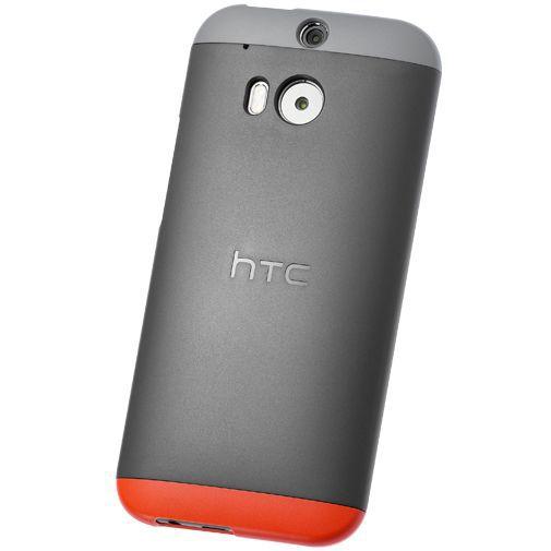 Productafbeelding van de HTC Double Dip Hard Shell Grey HTC One M8