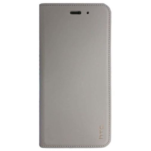 HTC Leather Flip Cover Grey U11