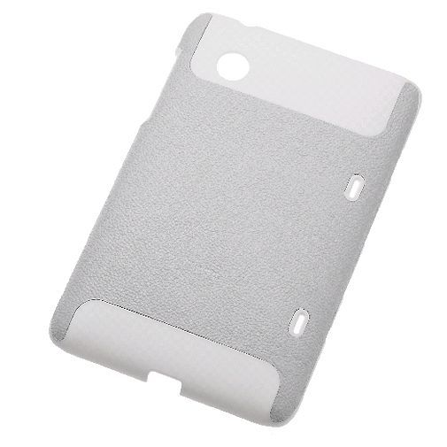 Productafbeelding van de HTC Leatherbacked Hard Shell Case HC C590 White Flyer