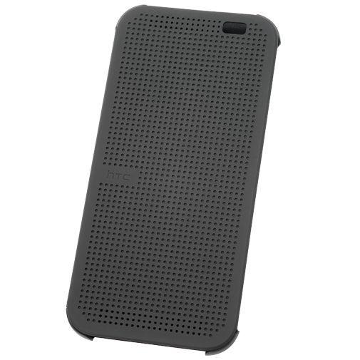 Productafbeelding van de HTC One M8 Dot View Flip Case Grey