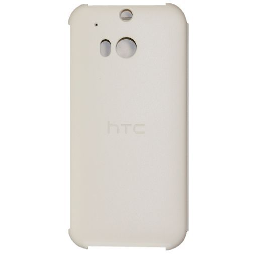 Productafbeelding van de HTC One M8 Flip Case White