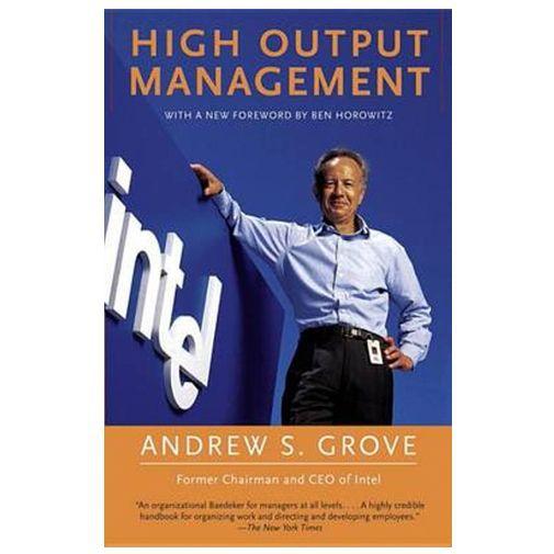 Productafbeelding van de High Output Management - Andrew Grove