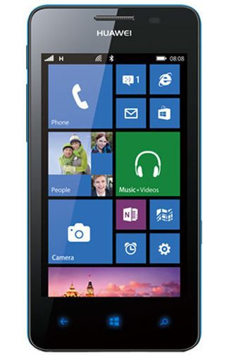 Productafbeelding van de Huawei Ascend W2 Blue