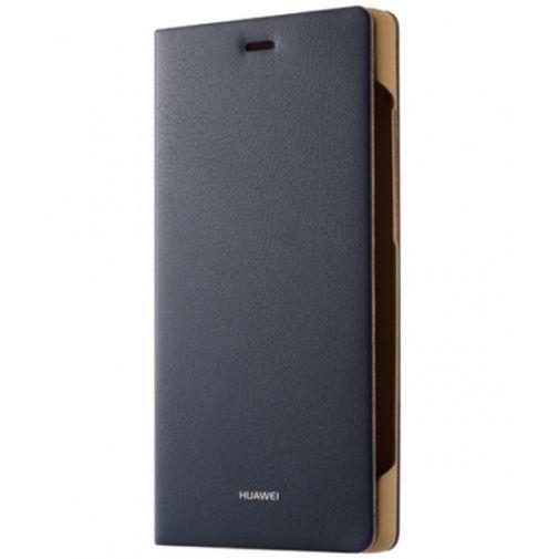 Productafbeelding van de Huawei Flip Cover Blue Huawei P8 Lite