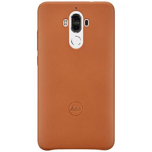 Productafbeelding van de Huawei Leica Leather Cover Brown Mate 9
