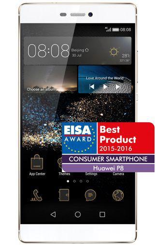 Productafbeelding van de Huawei P8 16GB Champagne Gold
