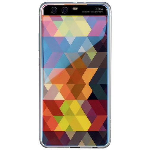 Productafbeelding van de Huawei TPU Case Multicolor Diamond Pattern P10
