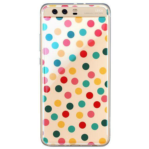 Huawei TPU Case Multicolor Spot Pattern P10