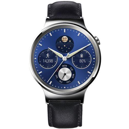 Productafbeelding van de Huawei Watch Classic Leather Black