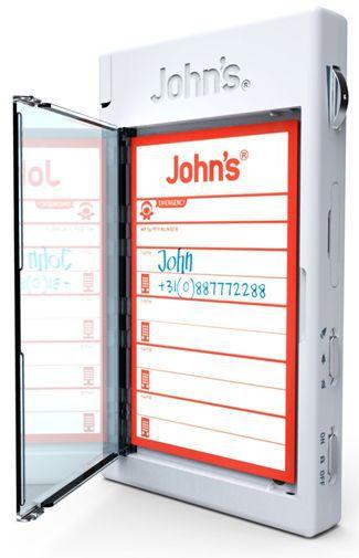 Productafbeelding van de John's Phone White