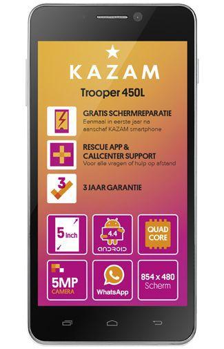 Productafbeelding van de Kazam Trooper 450L 4G Silver