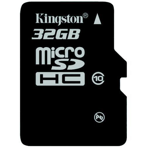Productafbeelding van de Kingston microSDHC 32GB Class 10 + SD-Adapter