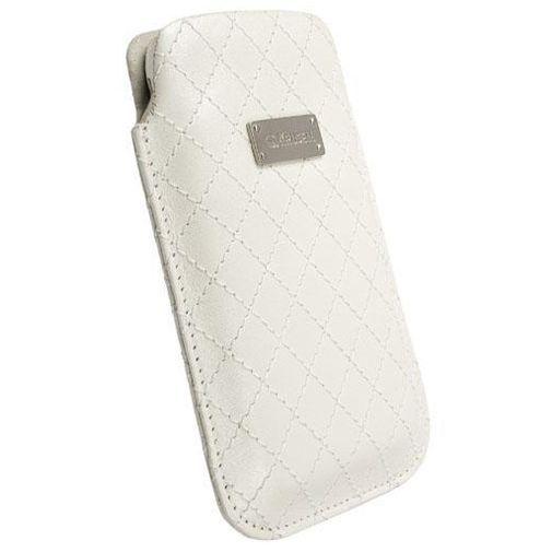 Productafbeelding van de Krusell Avenyn Pouch White Large